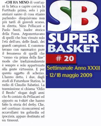 SB n° 20 12/18 maggio 2009